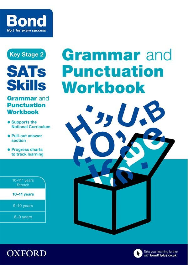 Bond Grammar and Punctuation Workbook