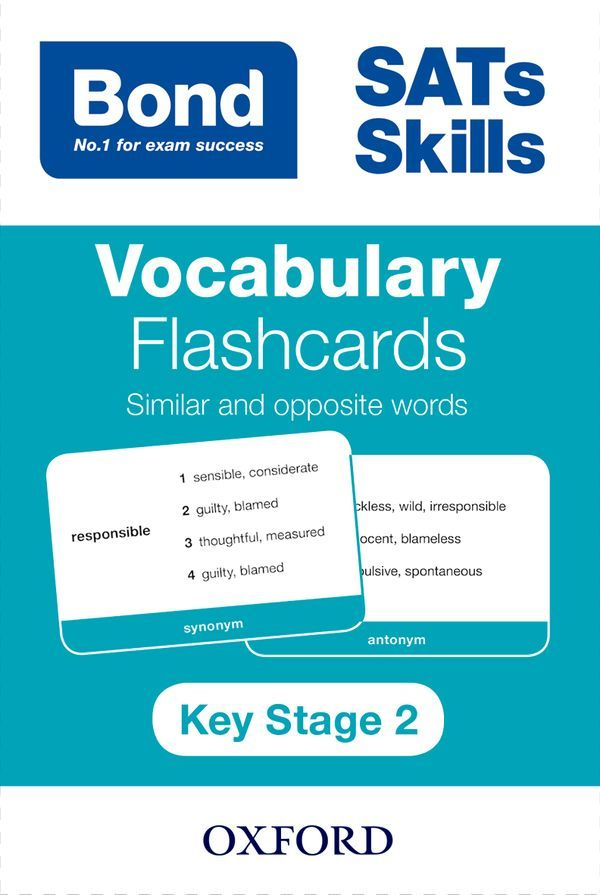 Bond Vocabulary Flashcards