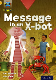 Message in an X-bot
