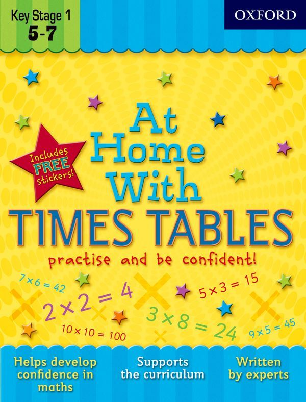 Help with Times Tables - Oxford Owl from Oxford University Press