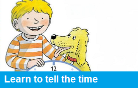 Learn to tell the time with Biff, Chip & Kipper