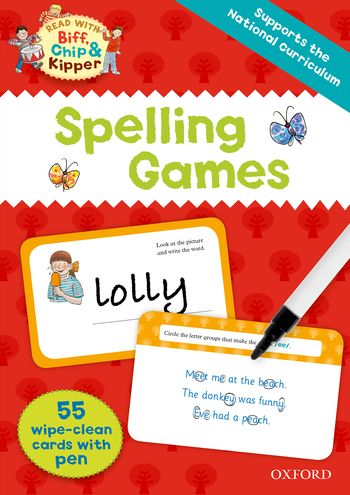 Biff, Chip and Kipper: Spelling Games Flashcards