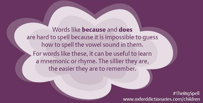 spelling tip