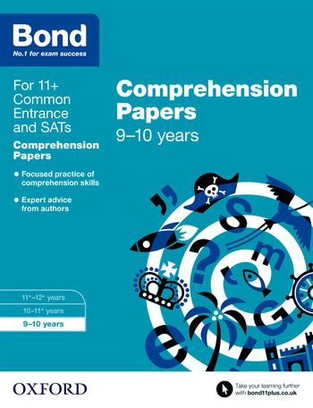 Bond 11+ English Comprehension Papers