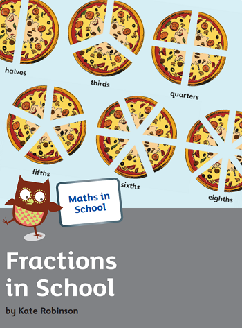 Fractions in school booklet