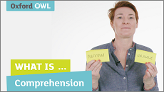 Charlotte Raby teacher training film on comprehension