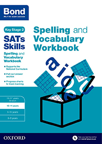 Bond Spelling and Vocabulary Workbook