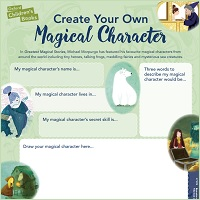 Create a magical character
