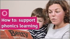 Supporting phonics at home