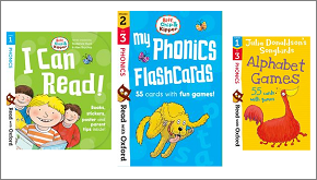 Activity kits and flashcards