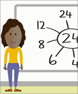 Resultado de imagen de boy watching video of mathematics cartoon