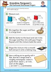 Shortbread fingers recipe