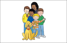 Learn to read with Biff, Chip and Kipper