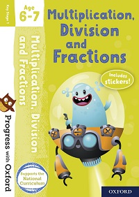 Progress with Oxford Multiplication activity book age 6-7