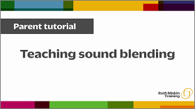 Teaching sound blending