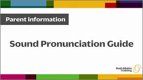 Sound Pronunciation Guide