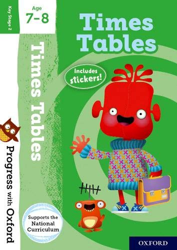 Times Tables activity book age 7-8