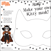 Make your own Kitty mask