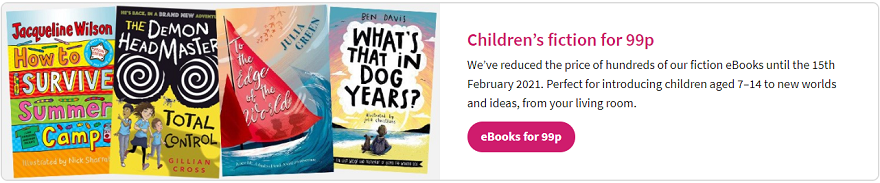 Children's eBooks for 99p